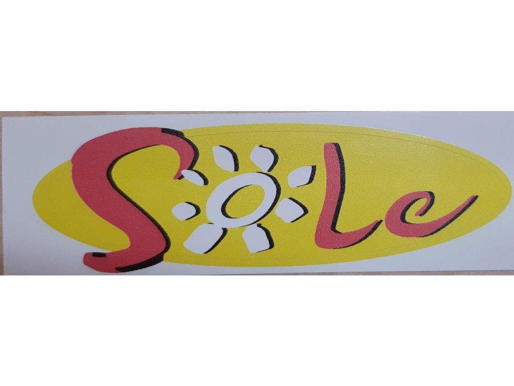 Samolepka edice  Škoda Felicia SOLE