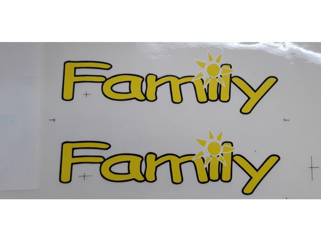 Samolepka edice  Škoda Felicia Family