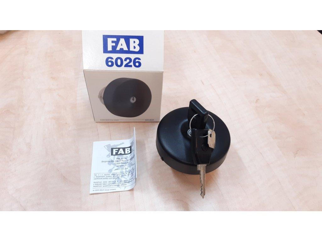 Originál uzávěr palivové nádrže FAB 6026 Favorit, Felicia