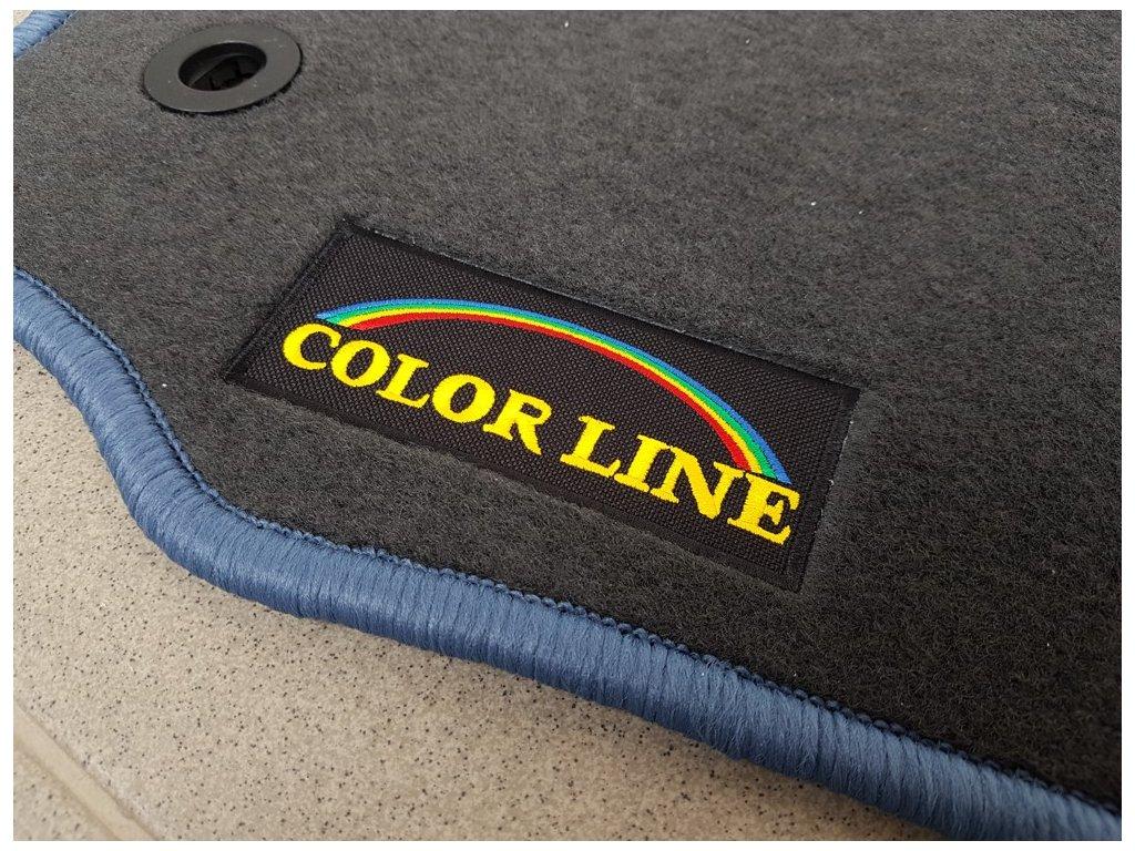 Koberečky Škoda Felicia Color Line