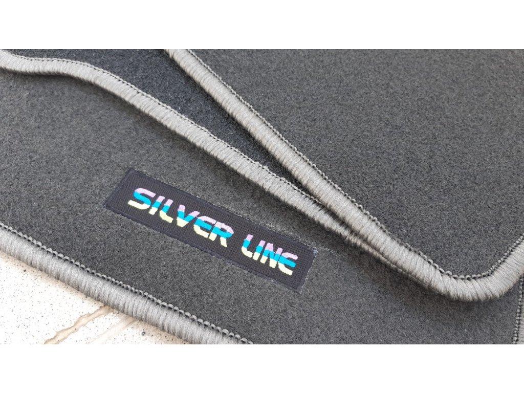 Koberečky Škoda Favorit - Silver Line