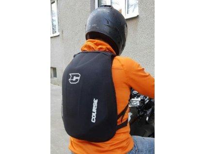 Moto batoh S tvrdou skořepinou