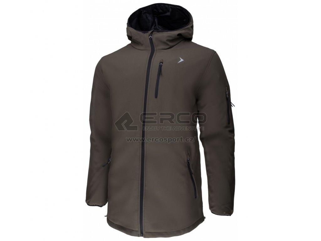 Pánská zimní bunda Outhorn KUM602 Khaki