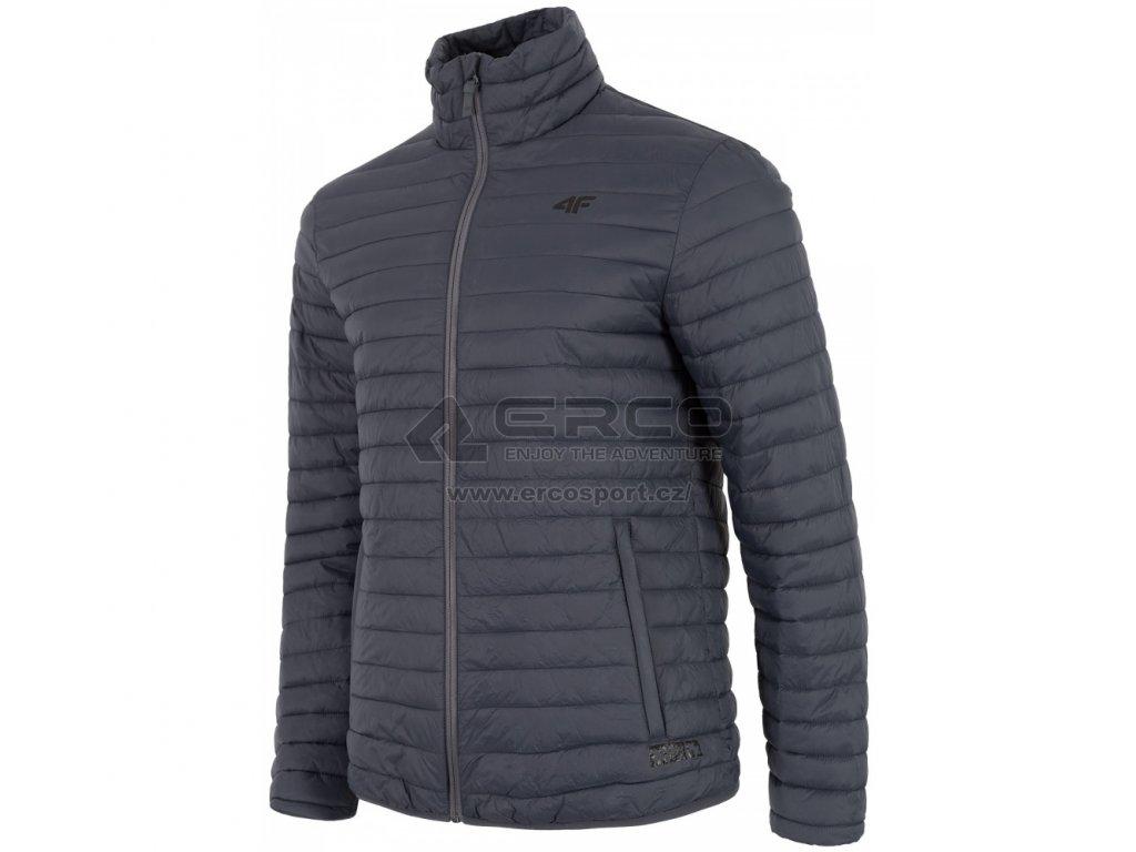Pánská bunda 4F KUM201 Mid grey 24S