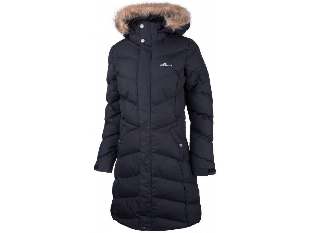 Dámský kabát ERCO RACHEL BLK černá