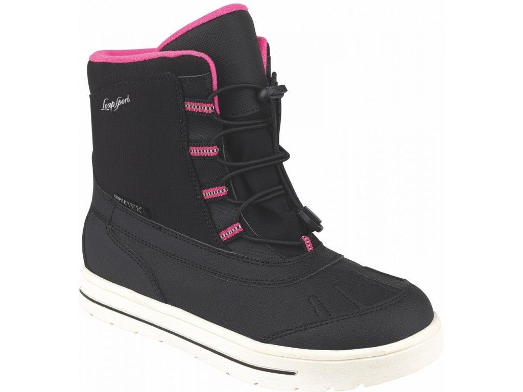 Dámské zimní boty Loap EXIT V11J černá