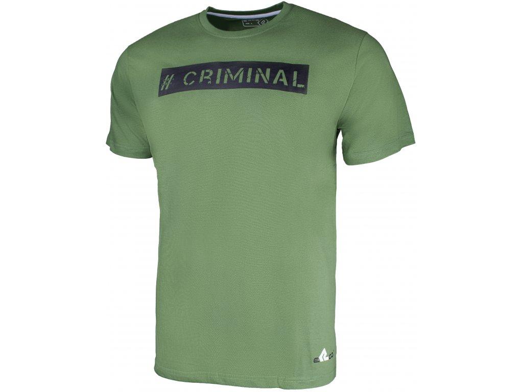 Pánské tričko ERCO CRIMINAL GRN zelená