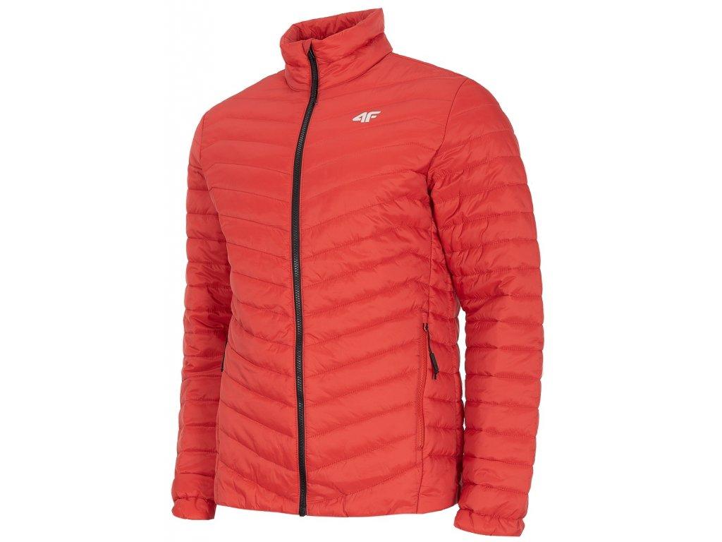 Pánská bunda 4F KUP002A Red červená
