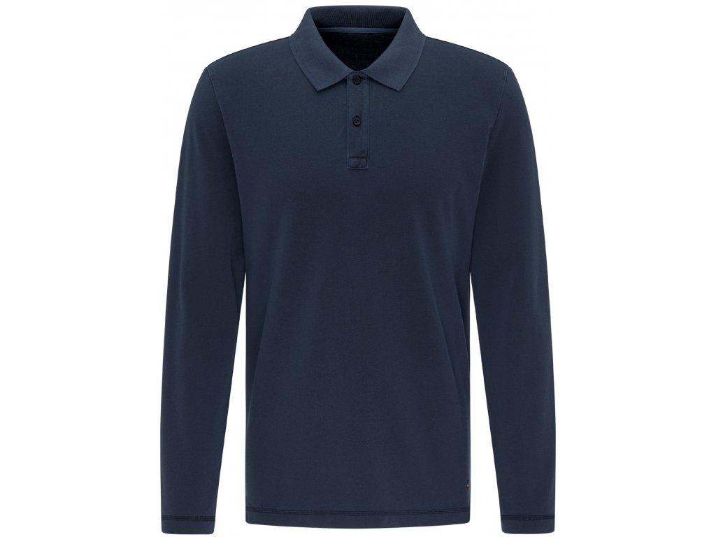 Pánské triko Mustang 1007879 4136 modrá
