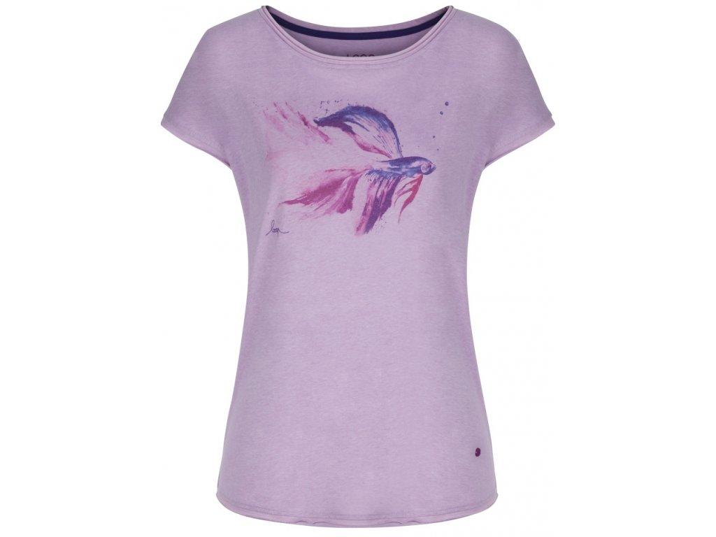 Dámské tričko Loap ALETTA K19K fialová