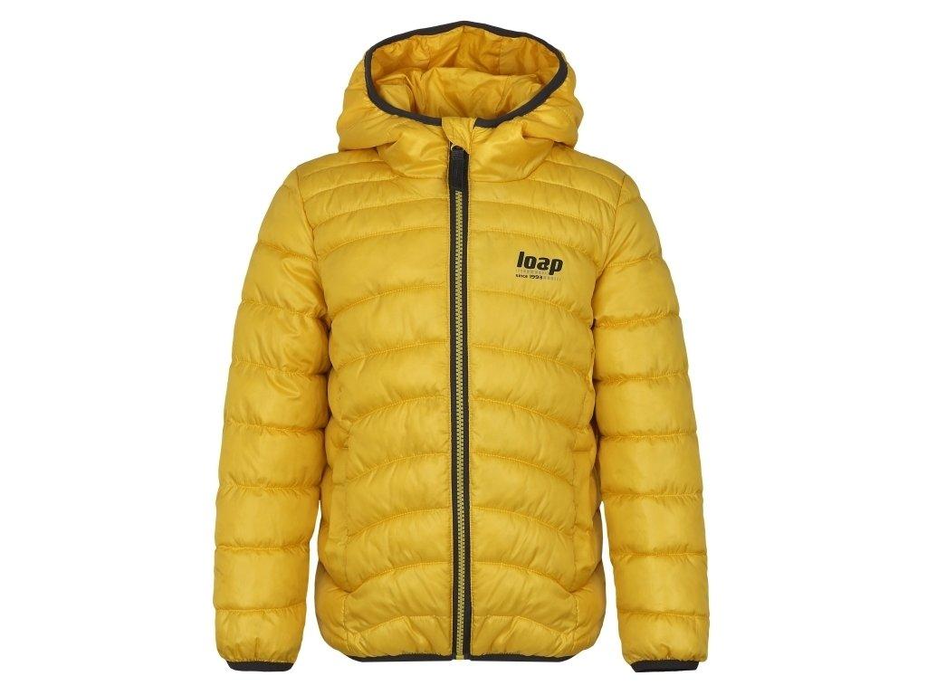 Dětská bunda Loap INFERY C05T žlutá