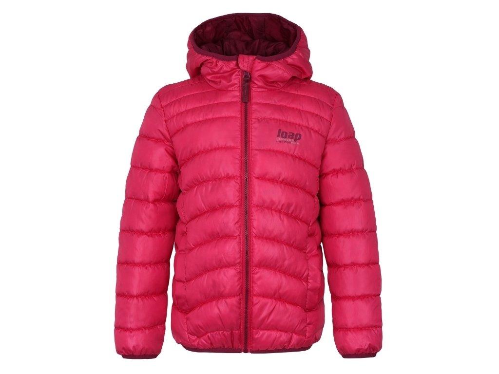 Dětská bunda Loap INFERY J54H růžová