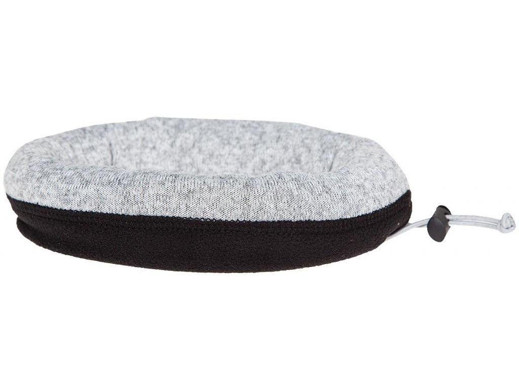 Multifunkční  šátek 4F BANU213 Cold l.grey mel. 27M šedá