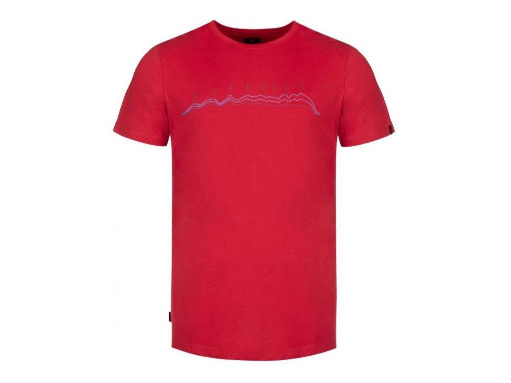 Pánské tričko Loap BENEDICT G05XG červená