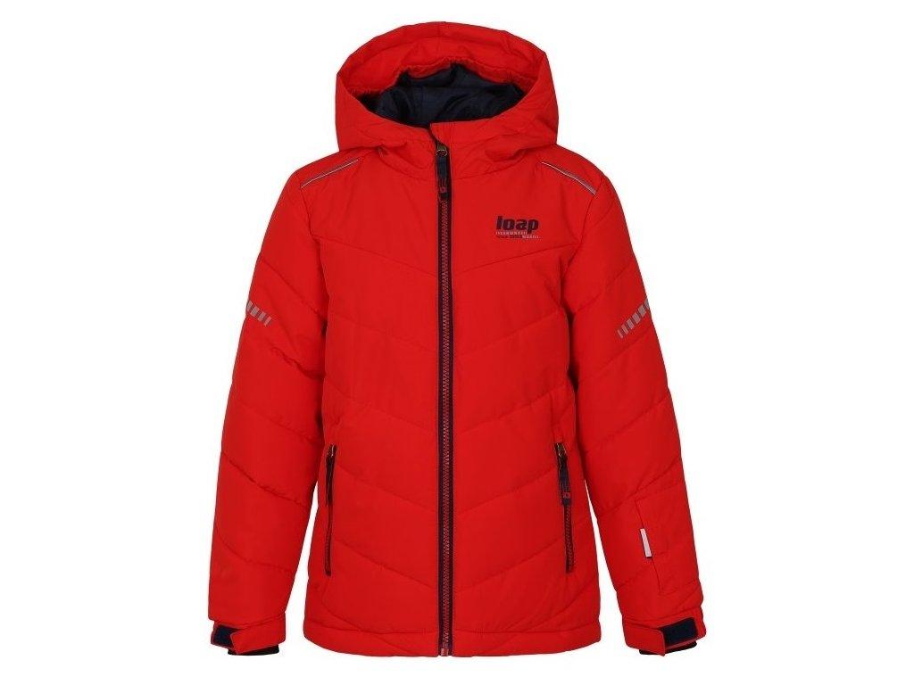 Dětská lyžařská bunda Loap FURIO G20L červená