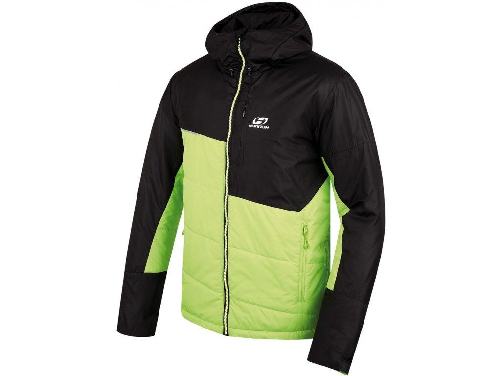 Pánská bunda Hannah Duffel Lime green/anth zelená