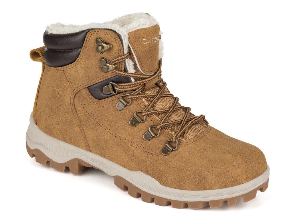Dámské zimní boty Loap FENDRA C03R hnědá
