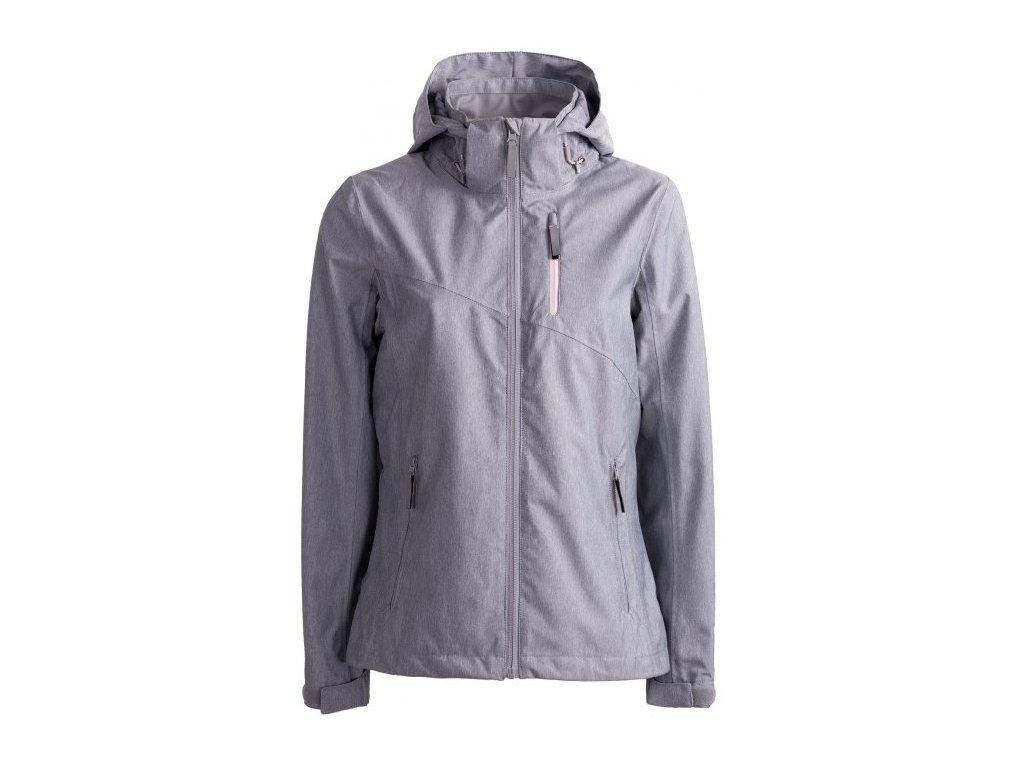 Dámská bunda Outhorn KUDT601 L.grey mel. šedá