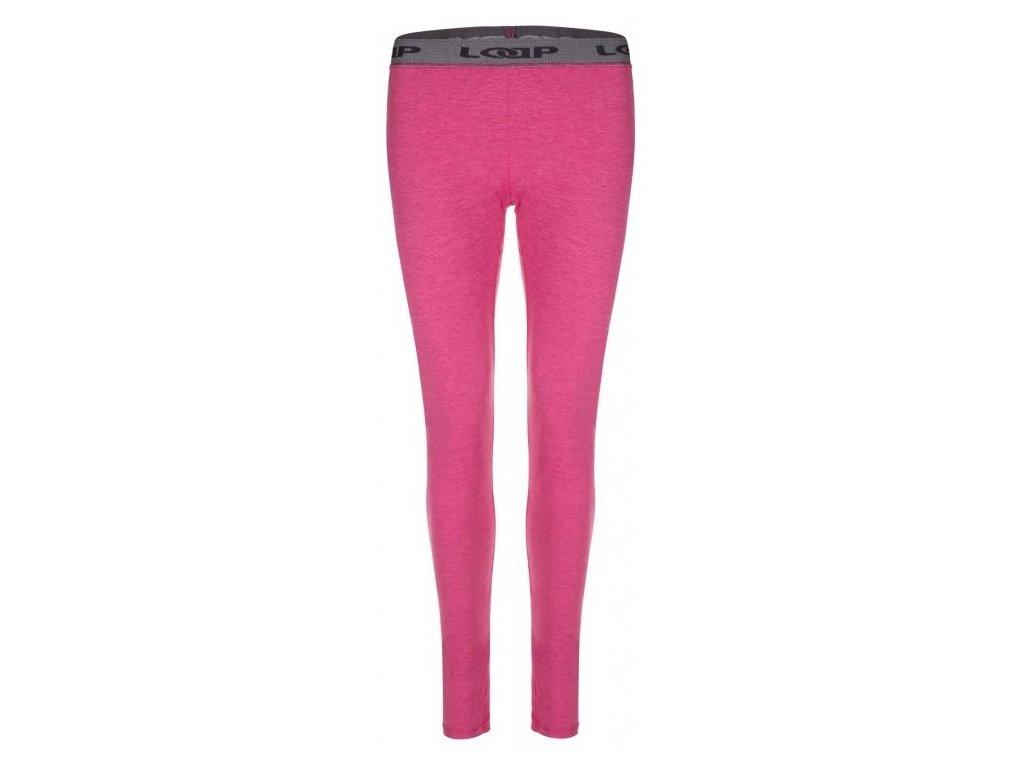 Dámské termo kalhoty Loap PETULA J54XJ růžová
