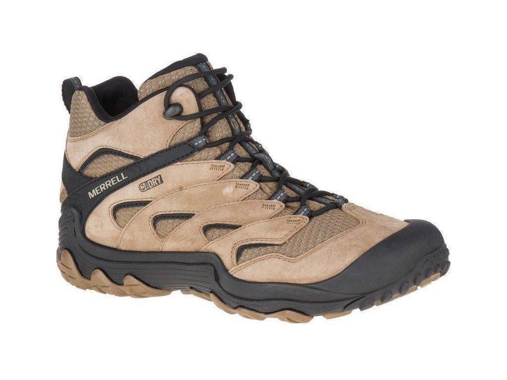 Pánské boty Merrell Chameleon 7 limit mid WTPF otter hnědá