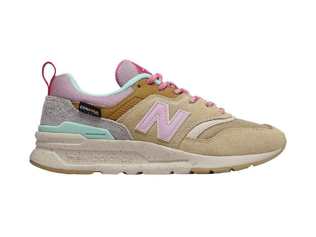 Dámská lifestylová obuv New Balance CW997 HOA hnědá