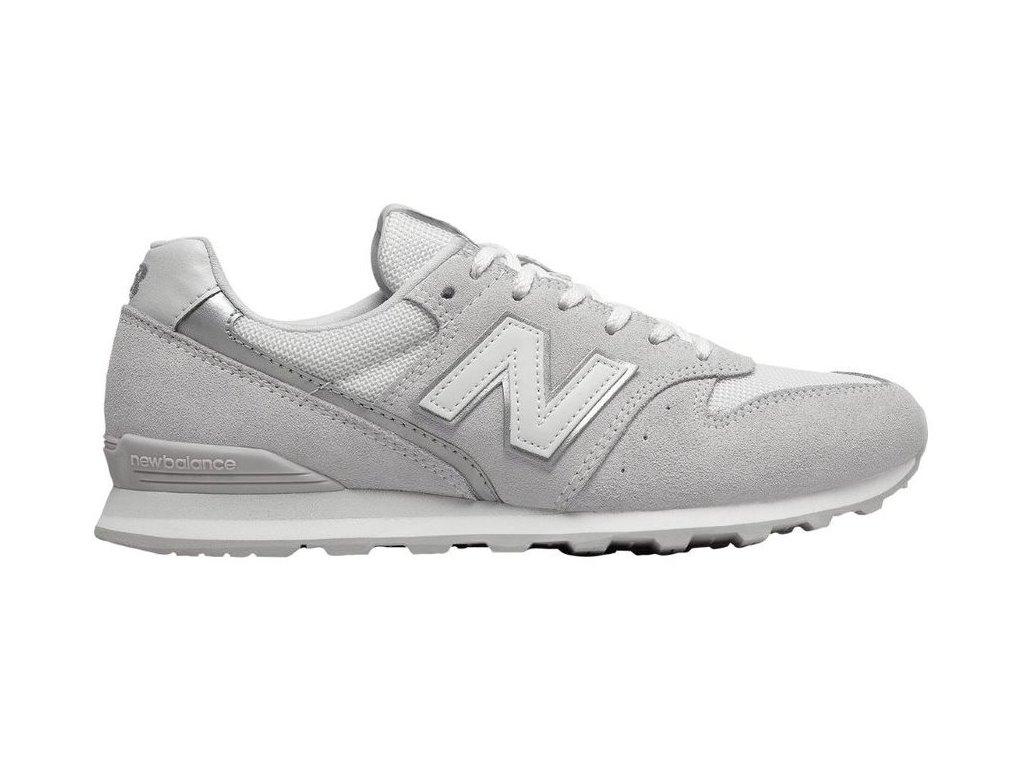 Dámská lifestylová obuv New Balance WL996 CLA šedá