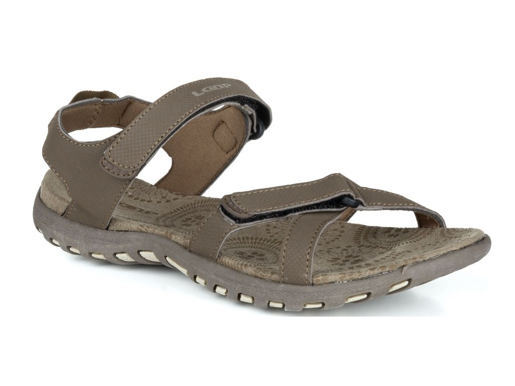 Dámské sandály Loap SIMMA R10R hnědá