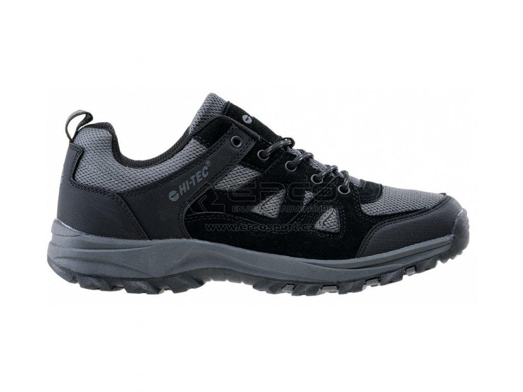 Pánské boty HI-TEC WIGANO BLK/D.grey
