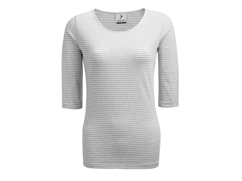 Dámské tričko Outhorn TSD601 Cold l.grey šedá