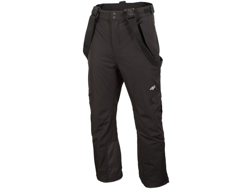Pánské lyžařské kalhoty 4F SPMN009 Deep black černá