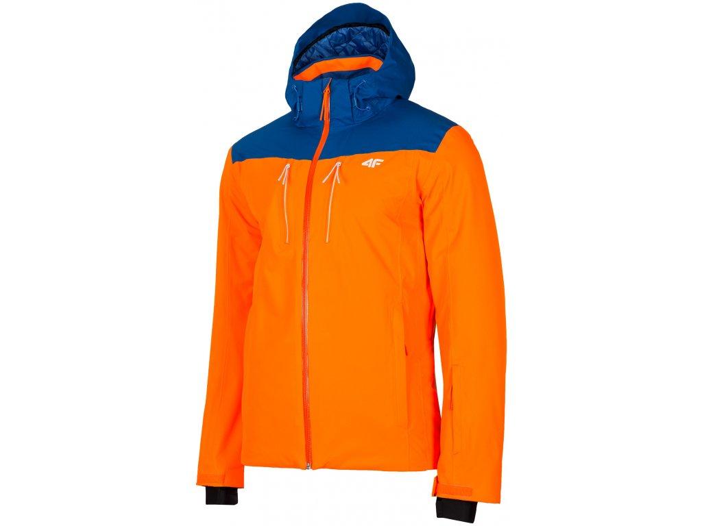 Pánská lyžařská bunda 4F KUMN009 Blue modrá
