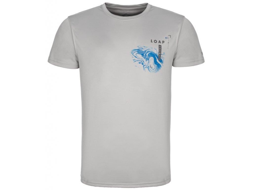 Pánské tričko Loap ALTY T29L šedá