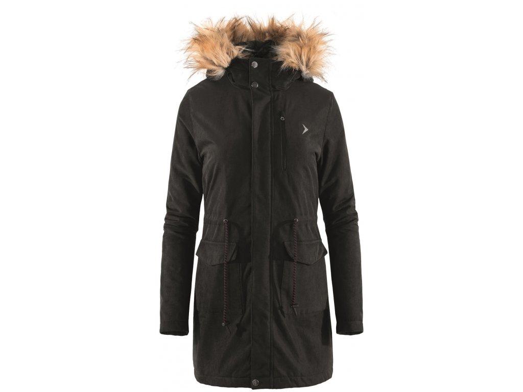 Dámský kabát Outhorn KUD610 Deep black černá