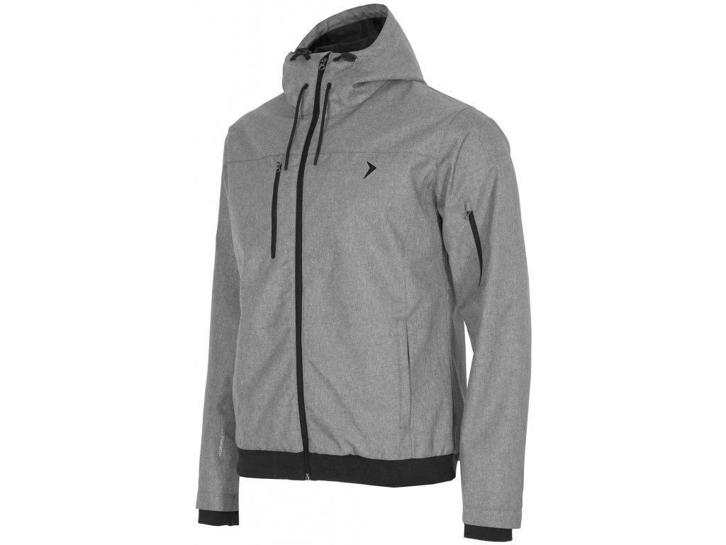 Pánská bunda Outhorn KUM604 Mid grey šedá