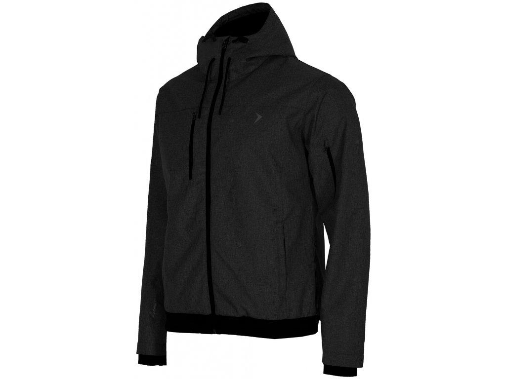 Pánská bunda Outhorn KUM604 Deep black černá