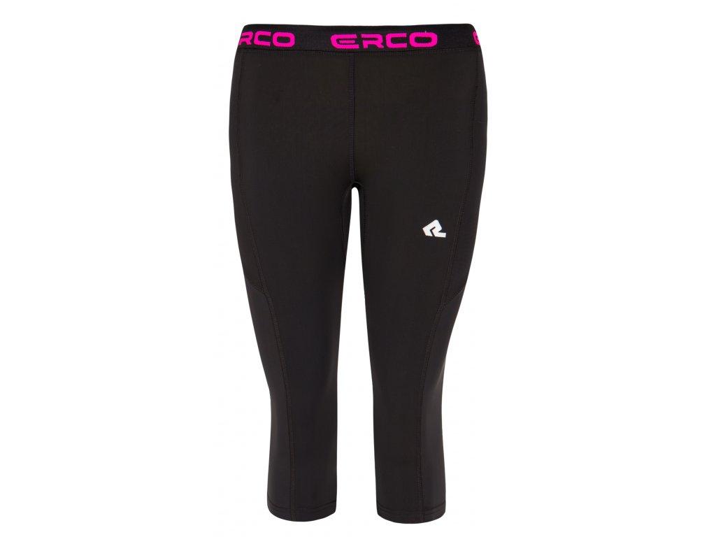 Dámské funkční 3/4 kalhoty ERCO HALTON BLP černá
