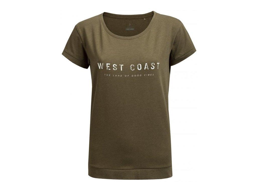 Dámské tričko Outhorn TSD637 Khaki