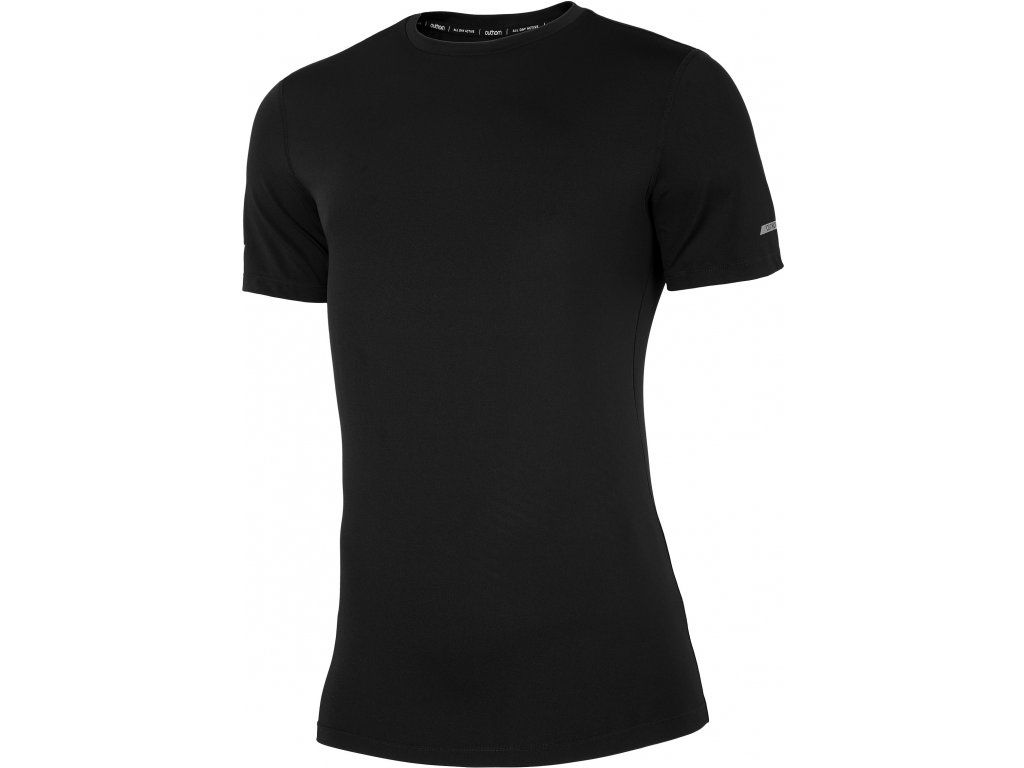 Pánské tričko Outhorn TSMF600 Deep black černá