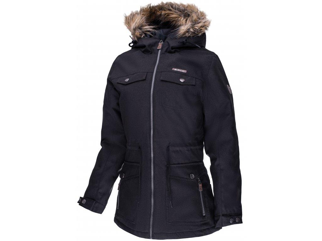Dámská zimní bunda ERCO DARONIA BLK černá