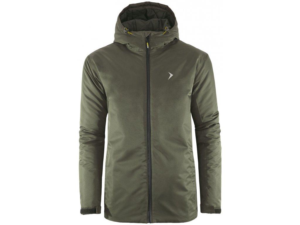 Pánská lyžařská bunda Outhorn KUMN600 Khaki Khaki