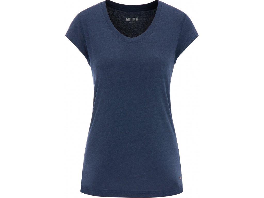 Dámské tričko Mustang 1006379 5334 modrá