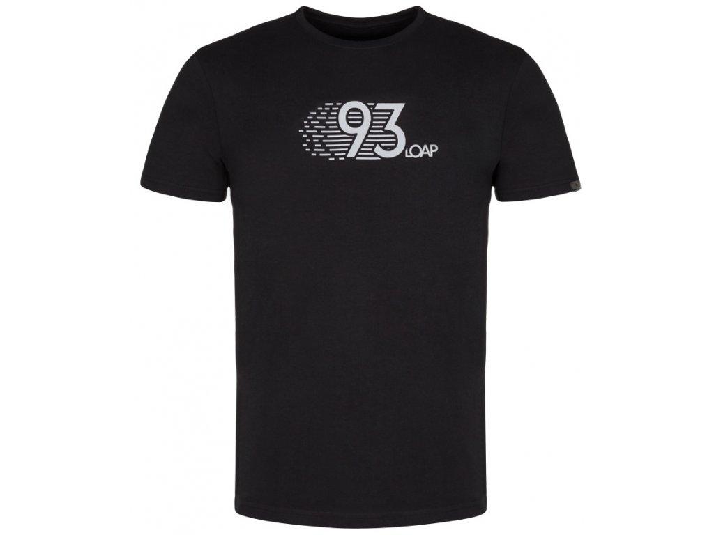 Pánské tričko Loap ALKOR V24T černá