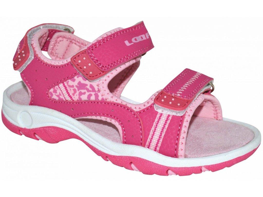 Dětské sandály Loap COPASA J52J růžová
