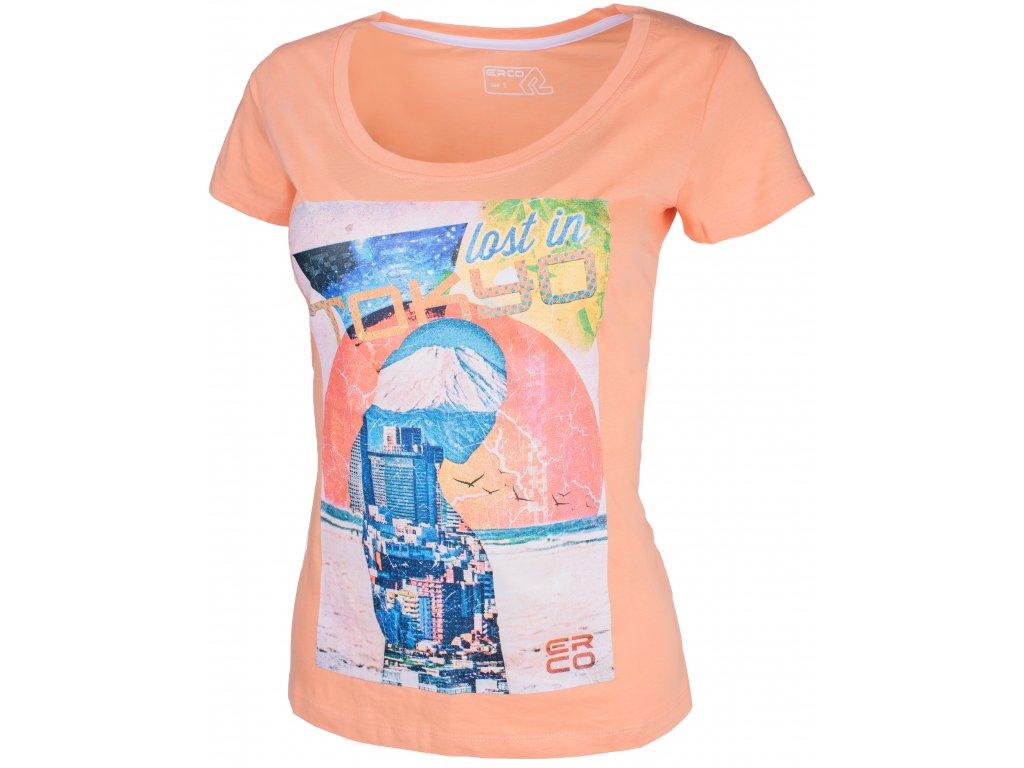 Dámské tričko ERCO TOKYO ORN oranžová
