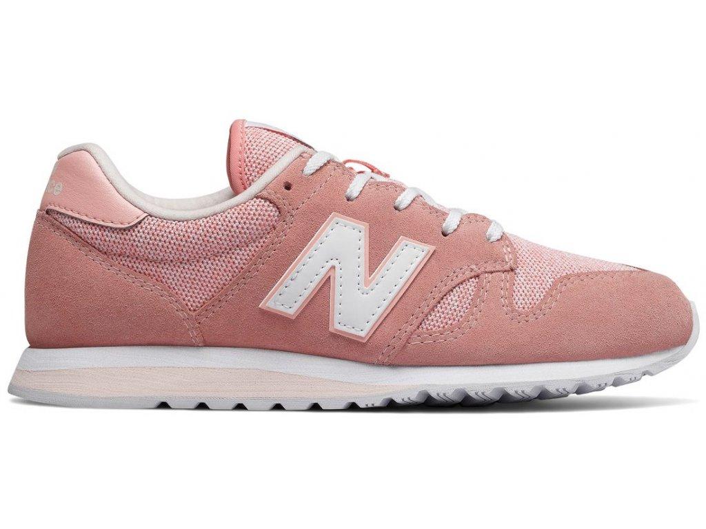 Dámská lifestylová obuv New Balance WL520 TLC růžová