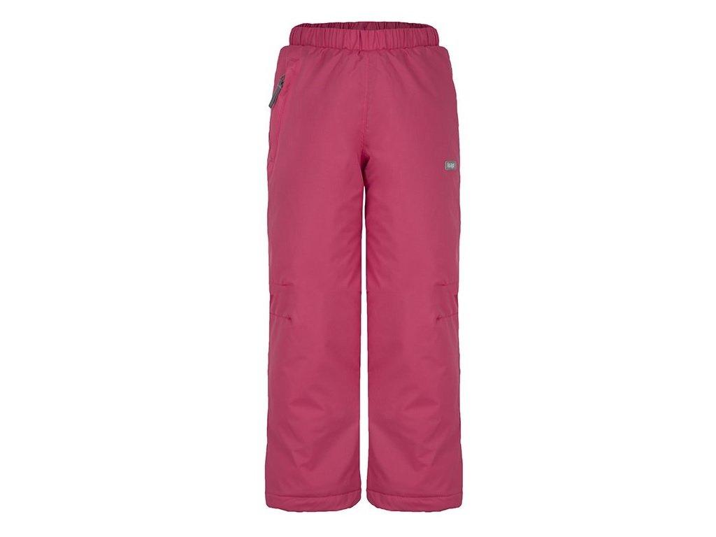 Dětské lyžařské kalhoty Loap FIFO J68J růžová
