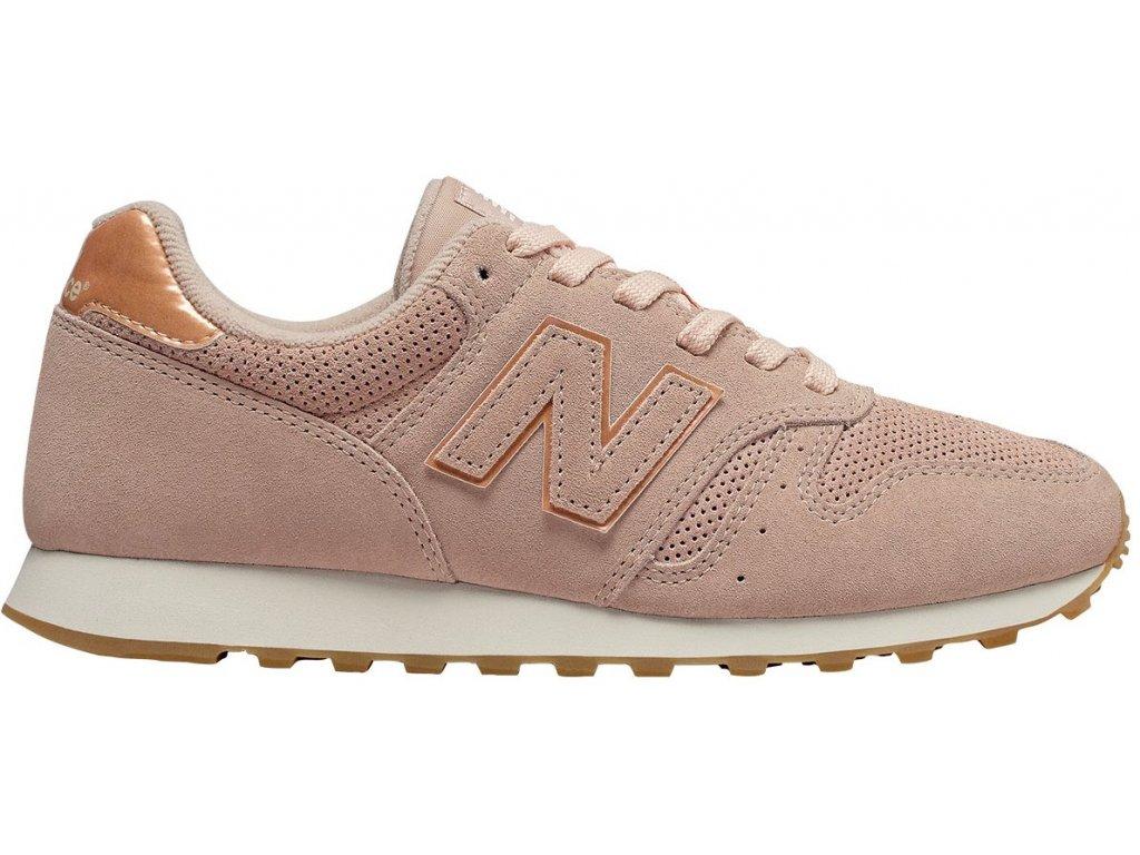 Dámská lifestylová obuv New Balance WL373 WNH růžová