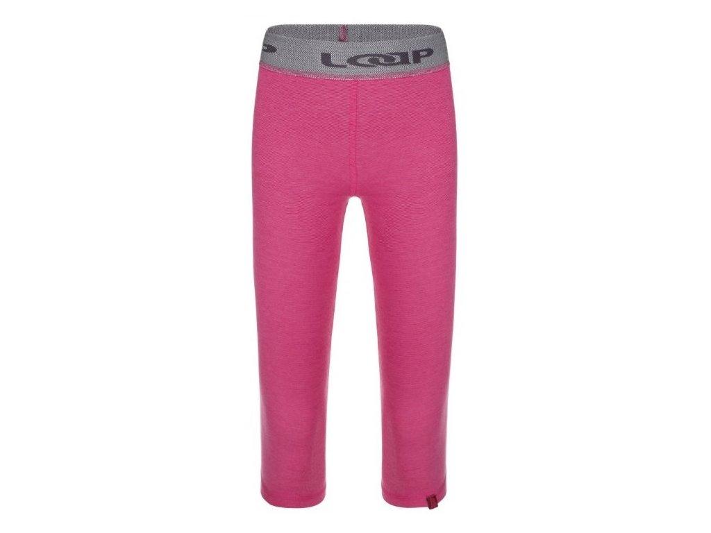 Dětské termo kalhoty Loap PITRIS J54XJ růžová