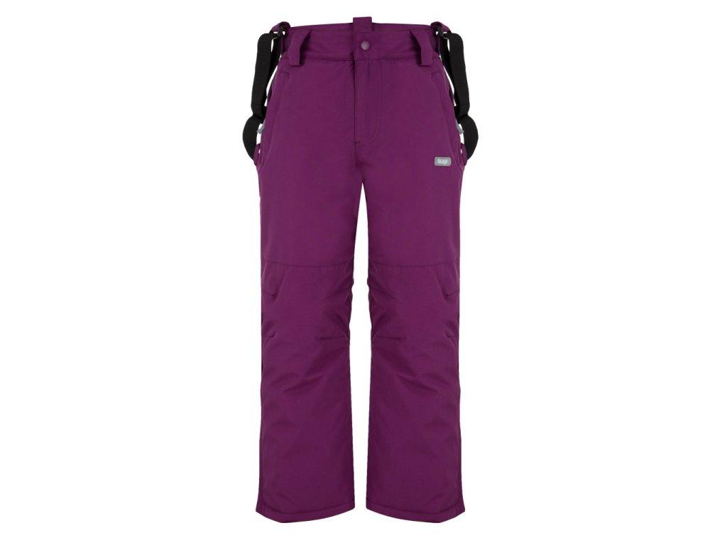 Dětské lyžařské kalhoty Loap CLIPE K78K fialová