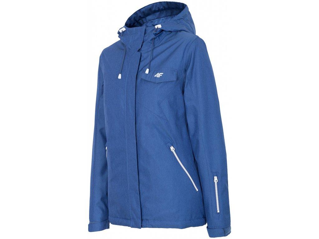 Dámská lyžařská bunda 4F KUDN280 Navy mel. 31M modrá
